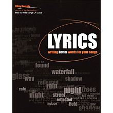 Backbeat Books Lyrics - Writing Better Words for Your Songs