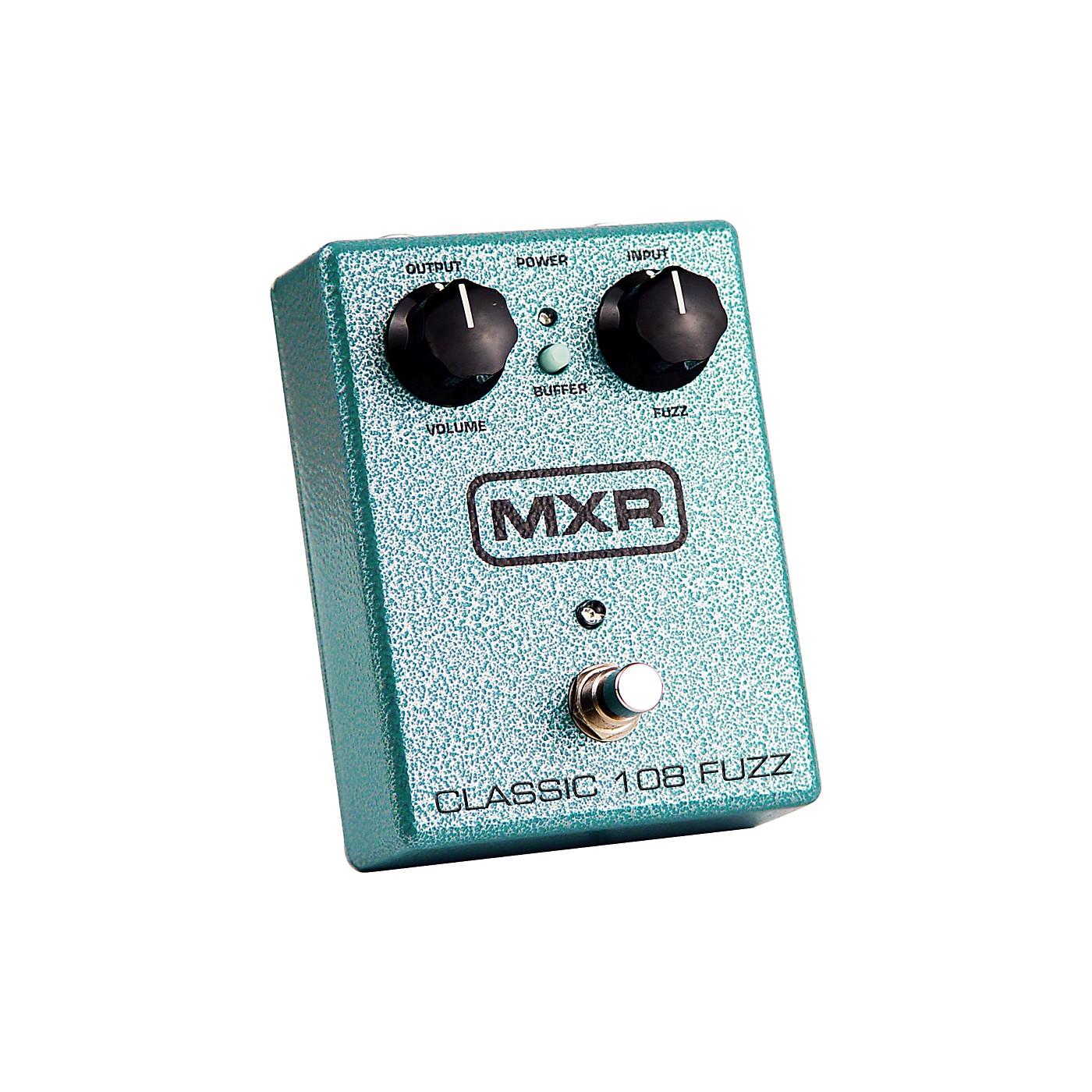 MXR M-173 Classic 108 Fuzz Guitar Effects Pedal thumbnail