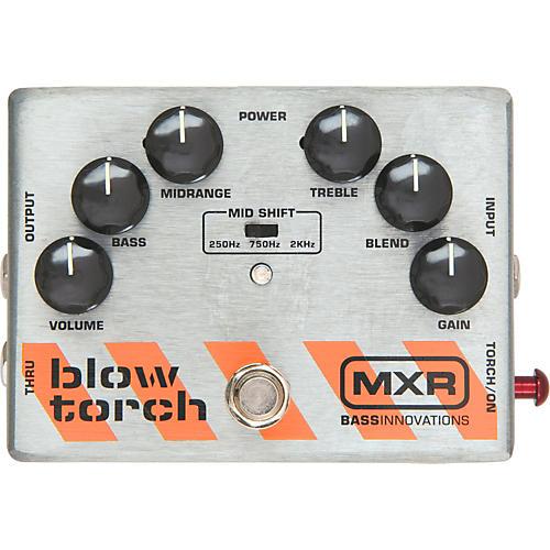 MXR M-181 Bass Blowtorch Overdrive Distortion Pedal thumbnail