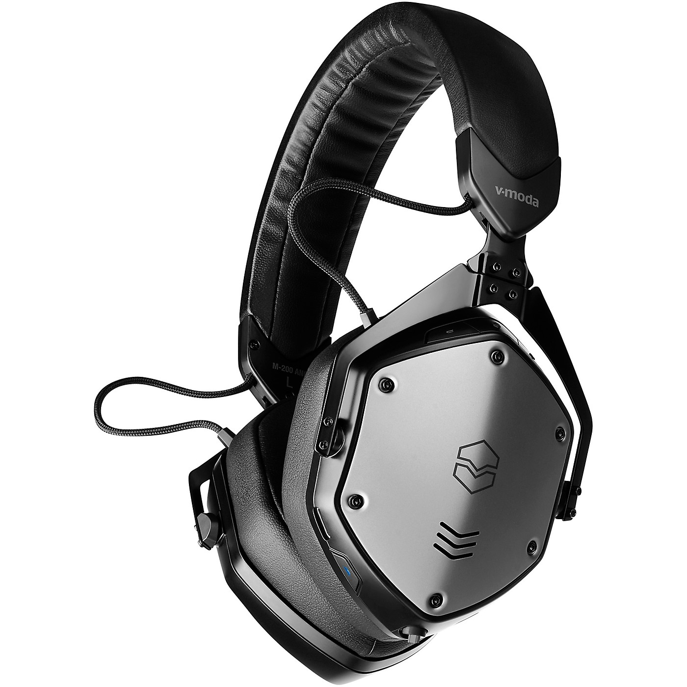 V-MODA M-200 ANC BK Noise Cancelling Wireless Bluetooth Over-Ear Headphones With Mic for Phone-Calls thumbnail
