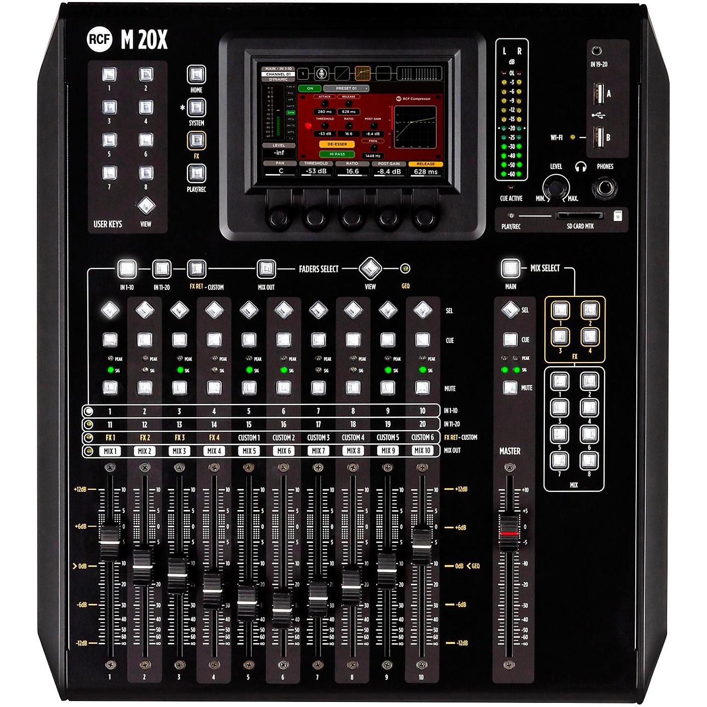 RCF M 20X 20-Channel Digital Mixer thumbnail