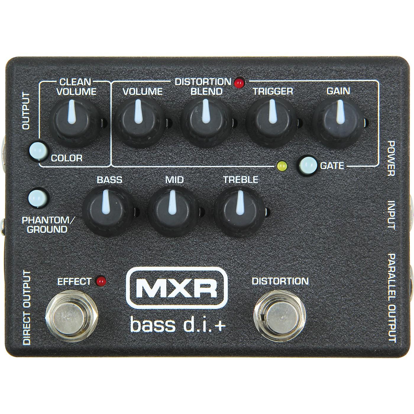 MXR M-80 Bass Direct Box with Distortion thumbnail