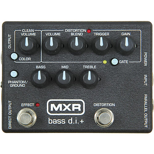 MXR M-80 Bass Direct Box with Distortion thumbnail
