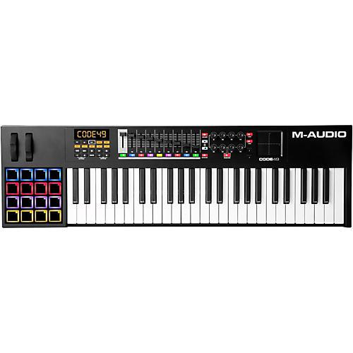 M-Audio M-Audio Code 49 USB MIDI Keyboard Controller Black thumbnail