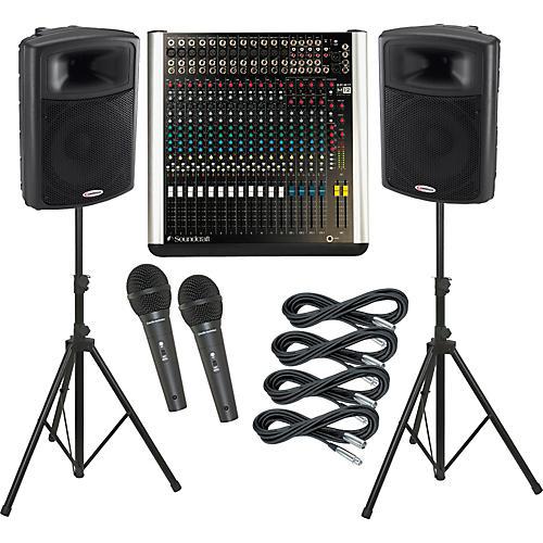 Soundcraft M12 / Harbinger APS15 PA Package thumbnail