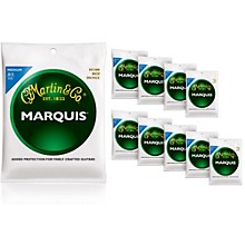 Martin M1200 Marquis 80/20 Bronze Medium 10-Pack Acoustic Guitar Strings