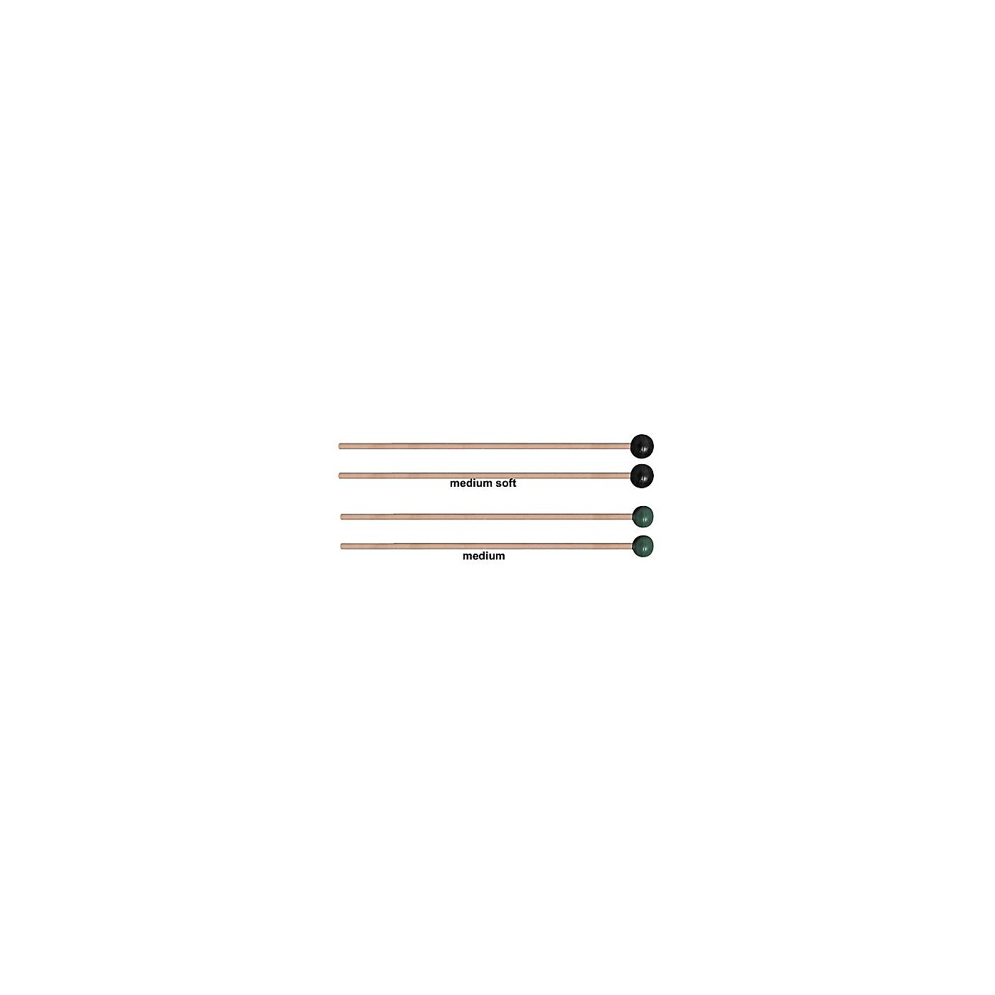 Vic Firth M131 / M132 Rubber Xylophone Mallets thumbnail