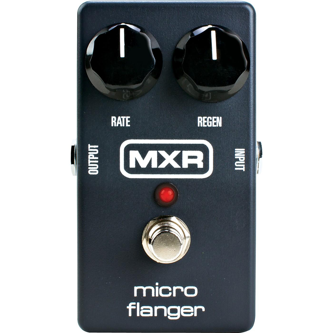 MXR M152 Micro Flanger Guitar Effects Pedal thumbnail