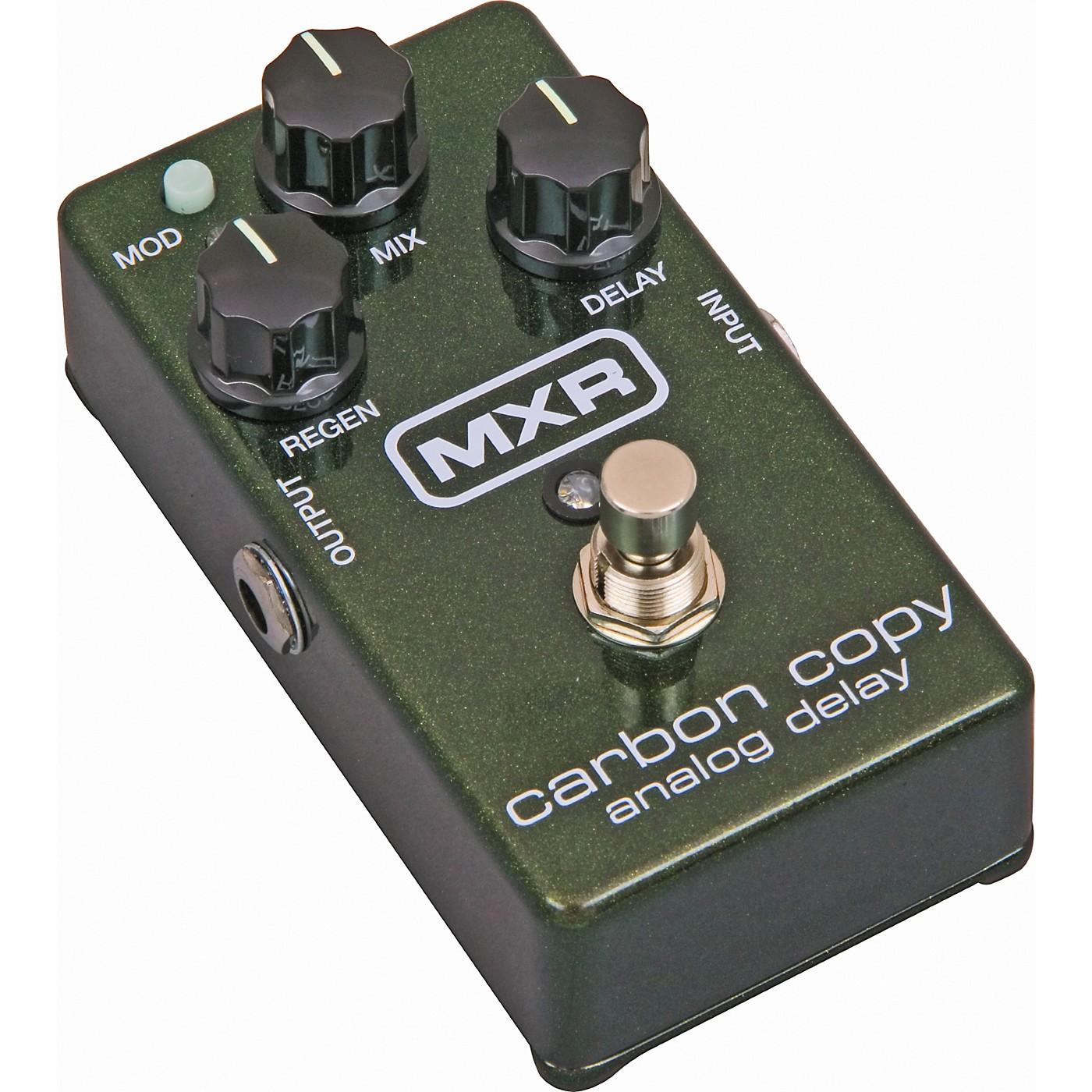 MXR M169 Carbon Copy Analog Delay Guitar Effects Pedal thumbnail