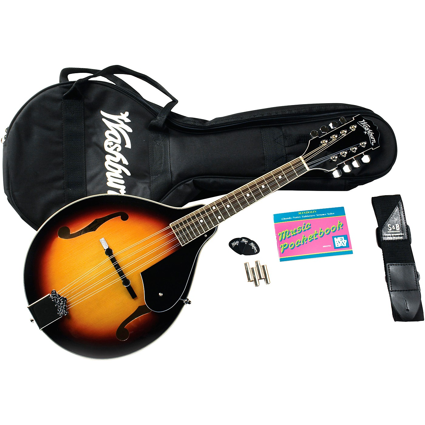 Washburn M1K A-Style Mandolin Package thumbnail