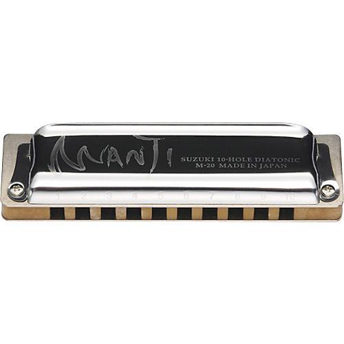 Suzuki M20 Manji 10-Hole Harmonica thumbnail