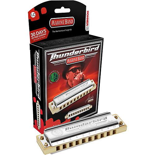 Hohner M2011 Marine Band Thunderbird Low Tuned Harmonica thumbnail