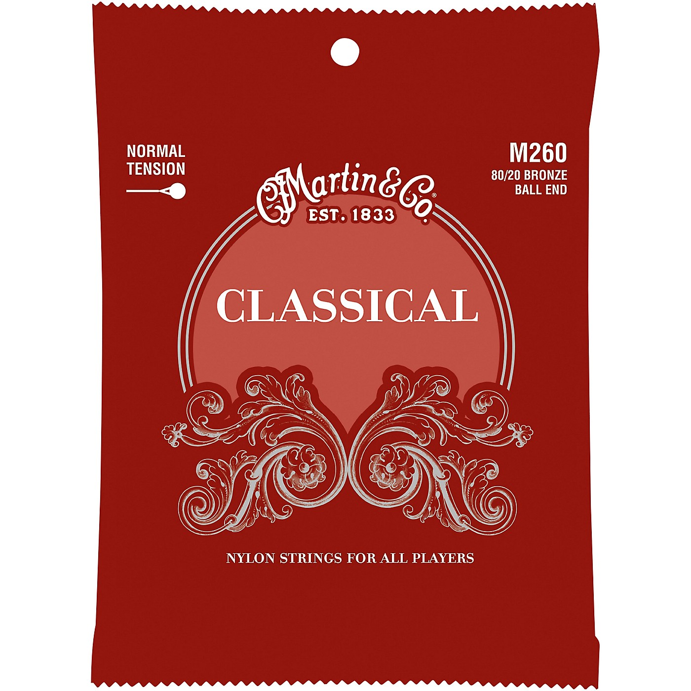 Martin M260 Classical Normal Tension 80/20 Bronze Ball Ended Strings thumbnail