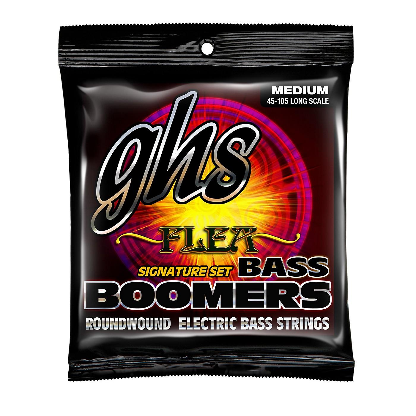 GHS M3045F Flea Signature Bass Boomers Medium Electric Bass Strings thumbnail