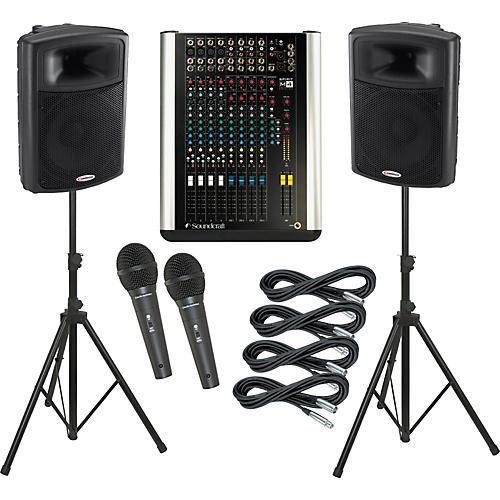 Soundcraft M4 / Harbinger APS15 PA Package thumbnail