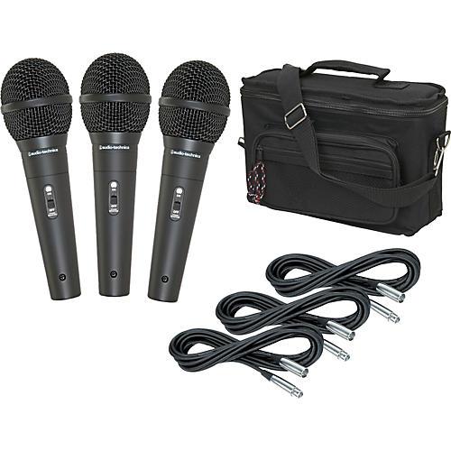 Audio-Technica M4000S 3-Pack Mic and Bag Kit-thumbnail