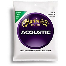 Martin M530 Phosphor Bronze Extra Light Acoustic Guitar Strings