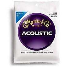 Martin M550 Phosphor Bronze Medium Acoustic Guitar Strings