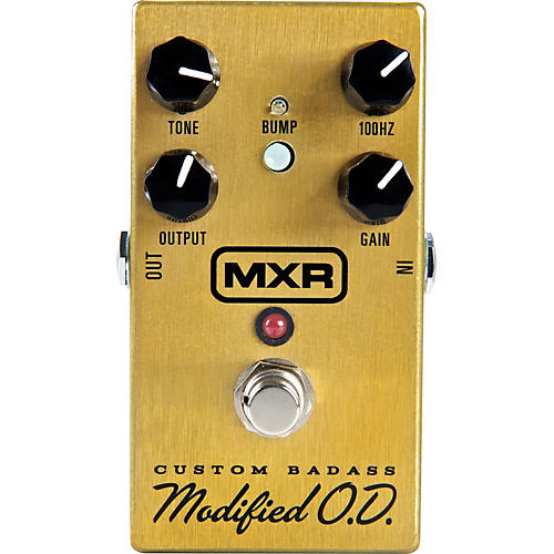 MXR M77 Custom Modified Badass Overdrive Guitar Effects Pedal thumbnail