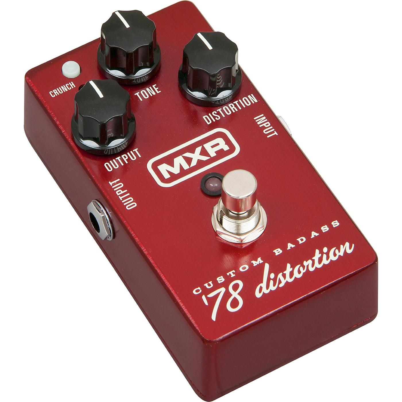 MXR M78 Custom Badass '78 Distortion Guitar Effects Pedal thumbnail