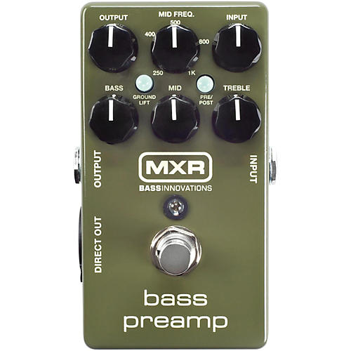 MXR M81 Bass Preamp-thumbnail