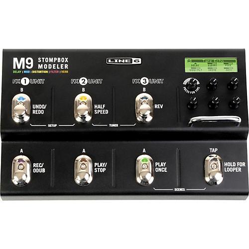 Line 6 M9 Stompbox Modeler Guitar Multi-Effects Pedal thumbnail