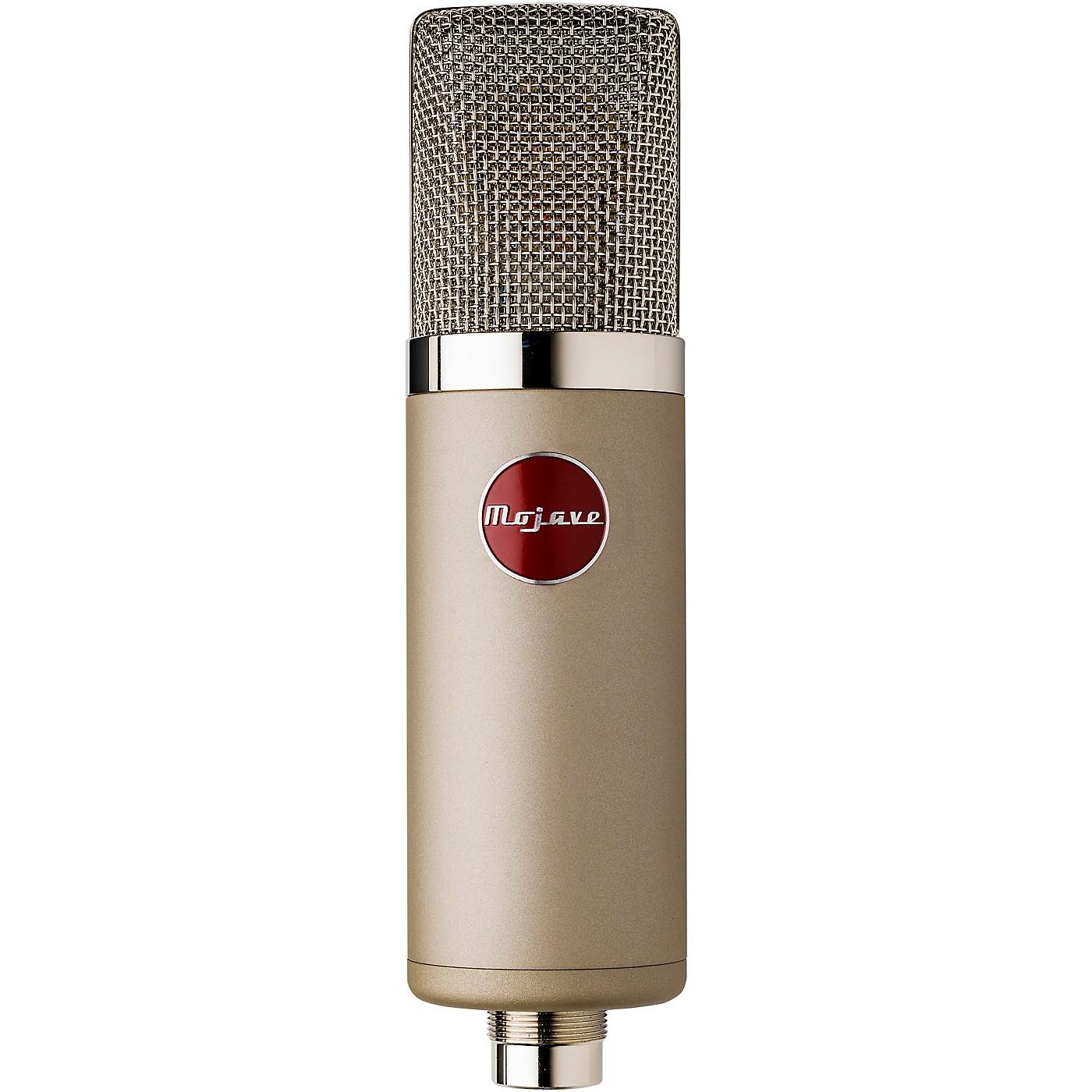 Mojave Audio MA-300SN Large-Diaphragm Multi-Pattern Tube Condenser Microphone - Satin Nickel thumbnail