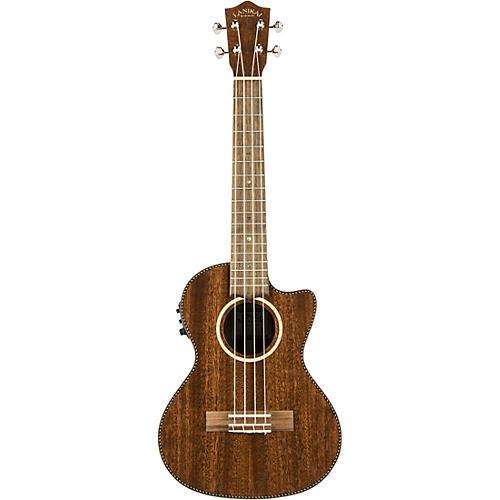 Lanikai MAS-CET All Solid Mahogany Tenor with Kula Preamp Acoustic-Electric Ukulele thumbnail
