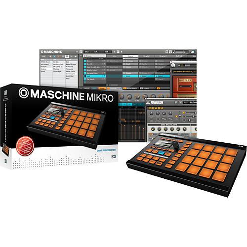 Native Instruments MASCHINE MIKRO Groove Production Studio-thumbnail