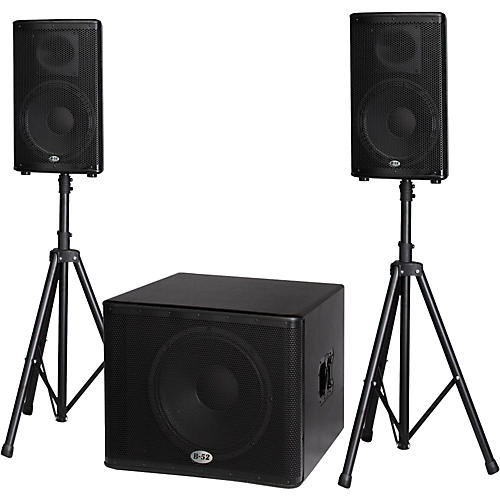 B-52 MATRIX-2500 3-Piece Active Speaker System thumbnail