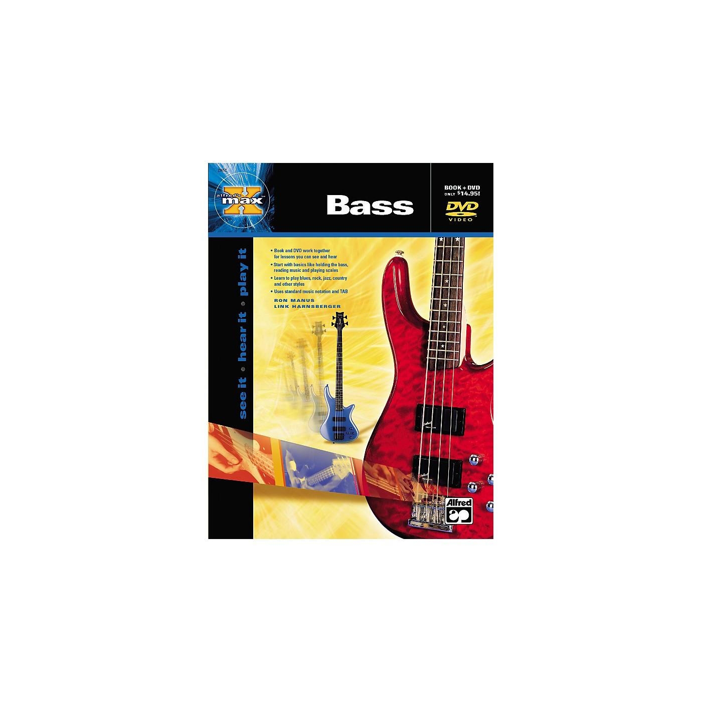 Alfred MAX Series Bass Instruction (Book/DVD) thumbnail