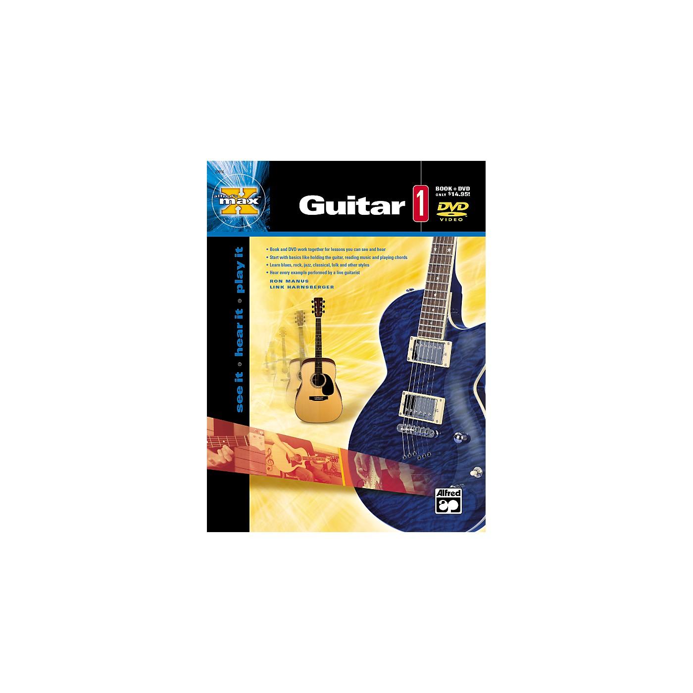 Alfred MAX Series Guitar Instruction 1 (Book/DVD) thumbnail