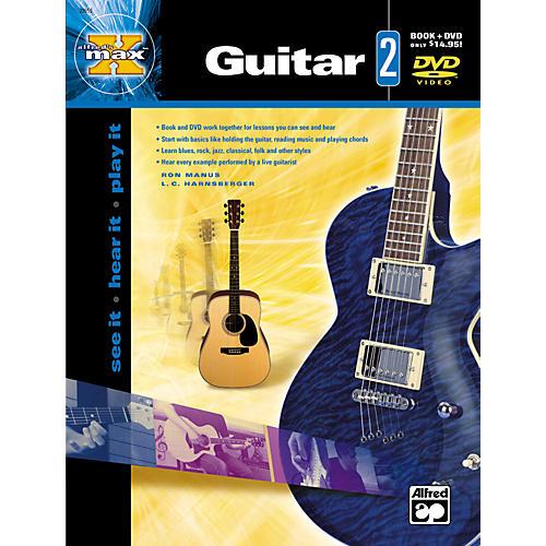 Alfred MAX Series Guitar Instruction 2 (Book/DVD) thumbnail