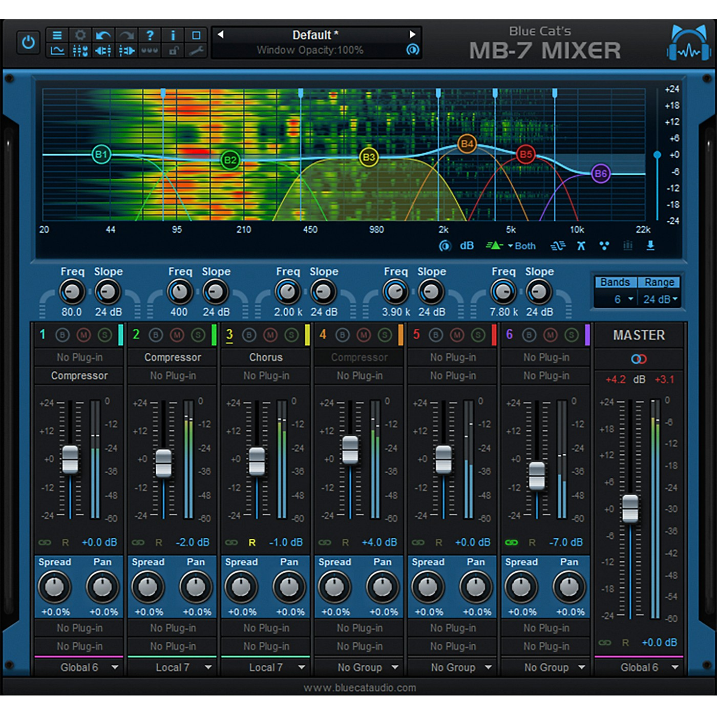 Blue Cat Audio MB-7 Mixer Plug-in thumbnail