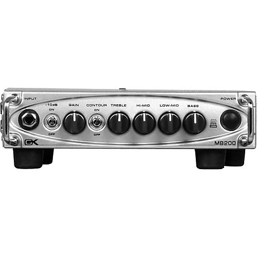 Gallien-Krueger MB200 200W Ultra Light Bass Amp Head thumbnail