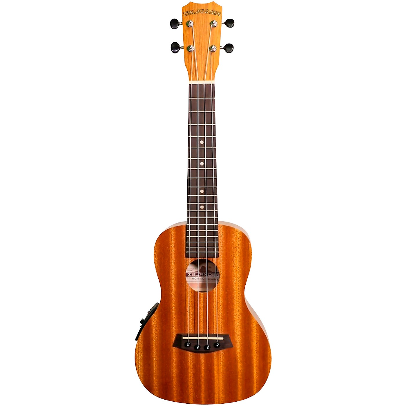 Islander MC-4 EQ Acoustic-Electric Concert Ukulele thumbnail