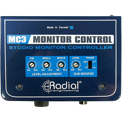 Radial Engineering MC3 Passive Studio Monitor Control thumbnail