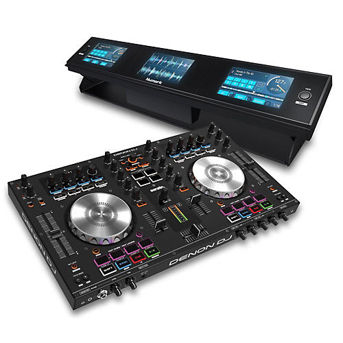 Denon MC4000 Serato Controller with Dashboard 3-Screen Display thumbnail