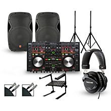 Denon MC6000MK2 with Harbinger V1015 DJ Package