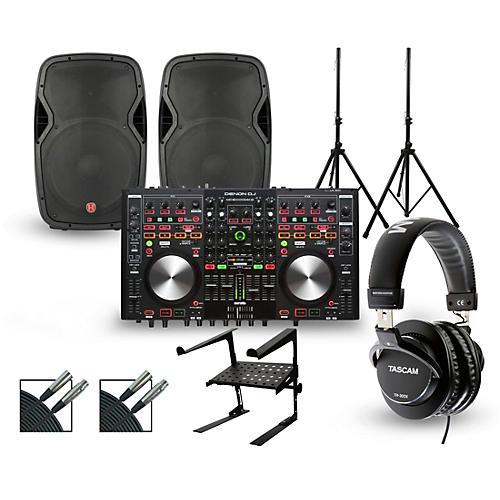 Denon MC6000MK2 with Harbinger V1015 DJ Package thumbnail