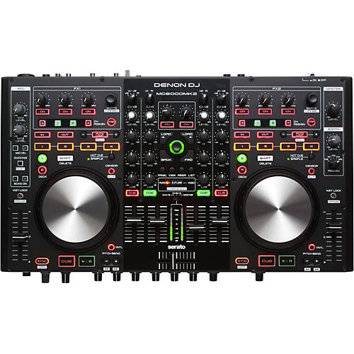 Denon MC6000Mk2 Professional Digital Mixer & Controller thumbnail