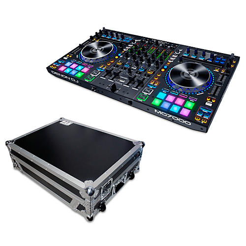 Denon MC7000 4-Channel DJ Controller with Case thumbnail
