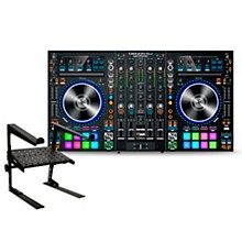 Denon MC7000 DJ Controller with Laptop Stand
