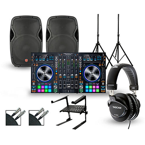 Denon MC7000 with Harbinger V1015 DJ Package thumbnail