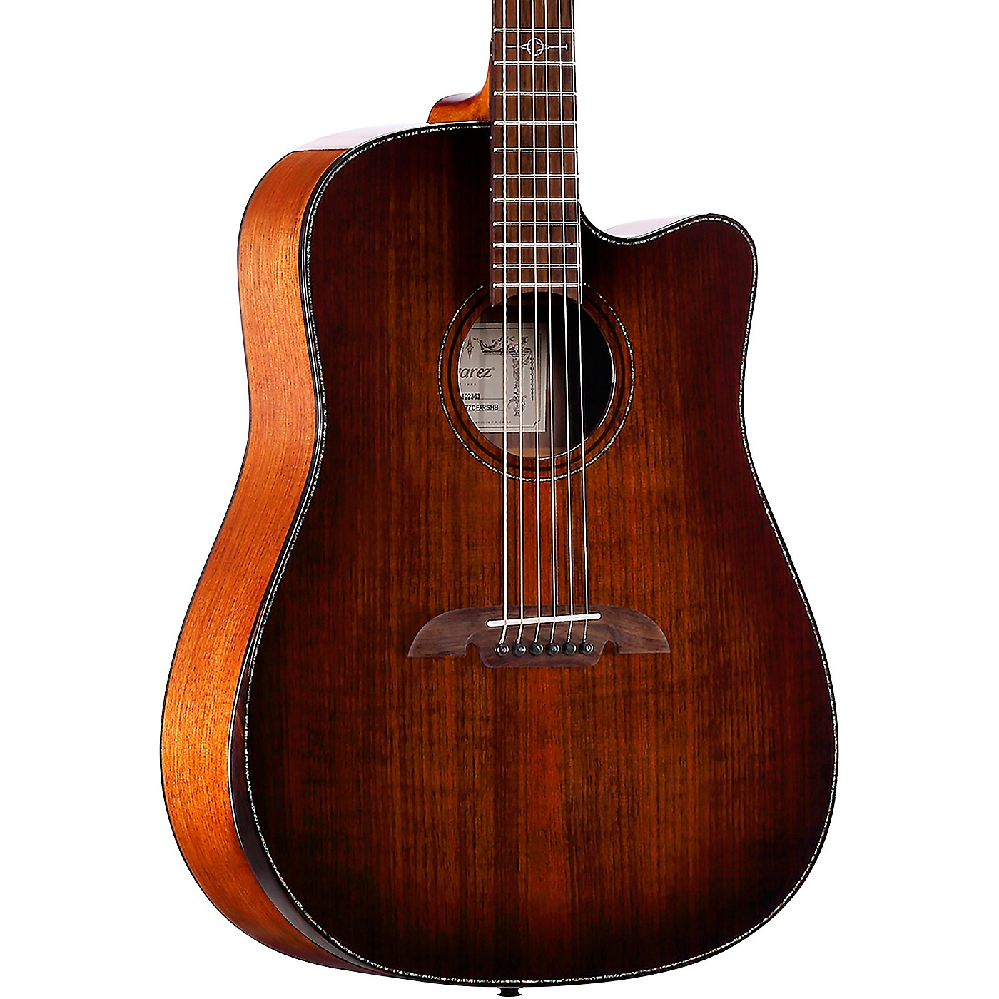 Alvarez MDA77CEAR Masterworks Dreadnought Acoustic-Electric Guitar thumbnail