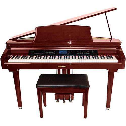 Suzuki MDG-300 Red Micro Grand Digital Piano thumbnail