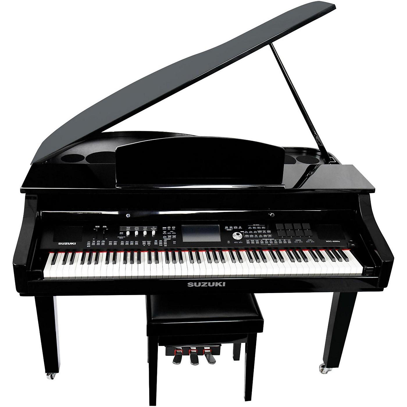 Suzuki MDG-4000ts TouchScreen Baby Grand Digital Piano thumbnail