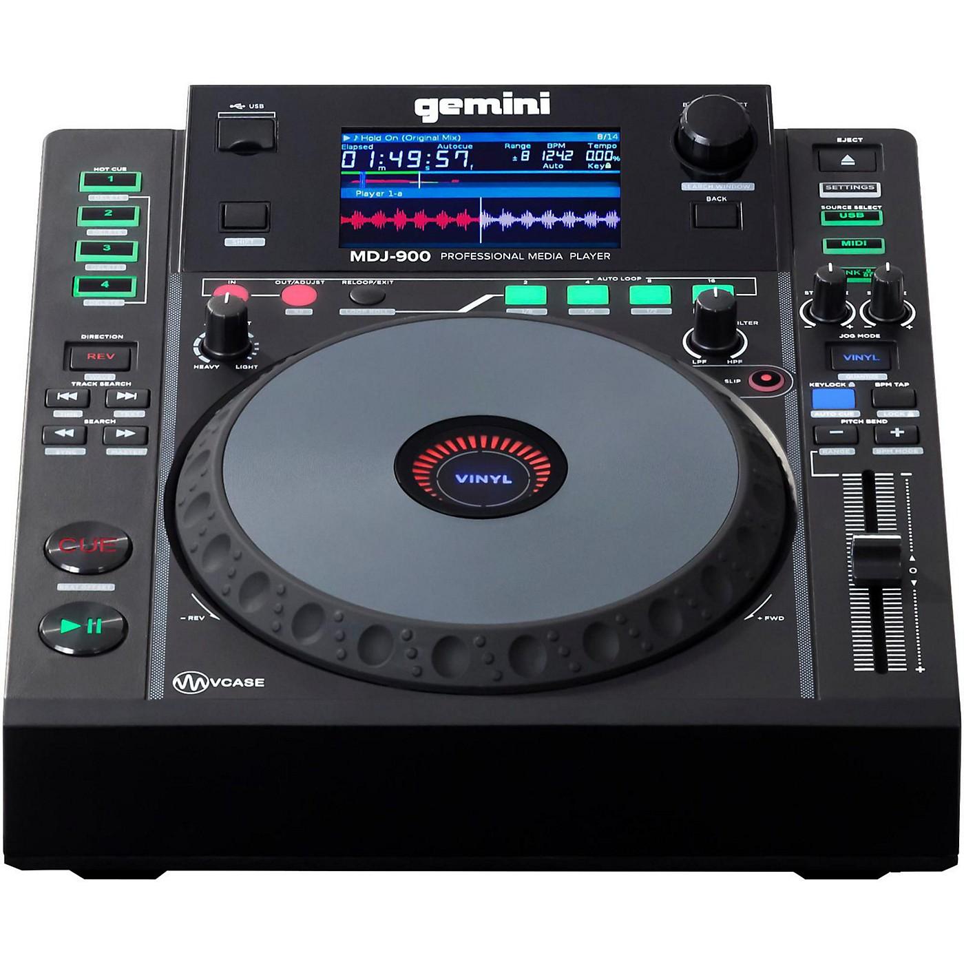 Gemini MDJ-900 Professional USB DJ Media Player thumbnail