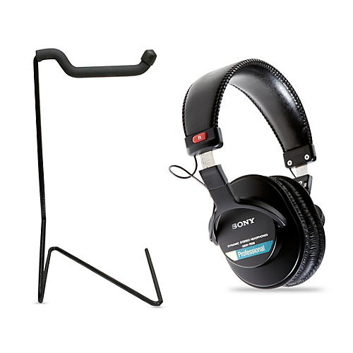 Sony MDR-7506 Professional Closed-Back Headphones with FREE stand thumbnail
