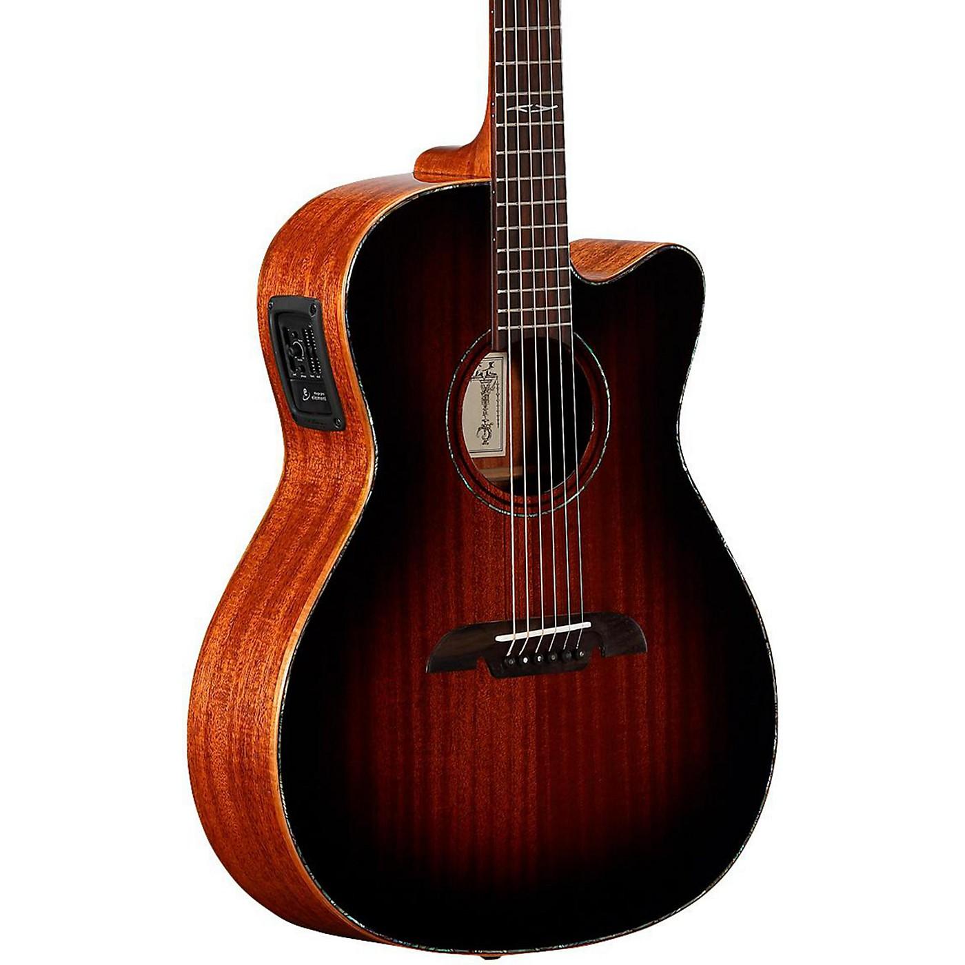 Alvarez MFA66CE Masterworks OM/Folk Acoustic-Electric Guitar thumbnail
